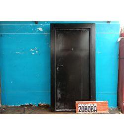 Двери Металлические Б/У 2050(в) х 980(ш) Входные