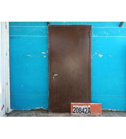 Двери Металлические Б/У 2110(в) х 960(ш) Входные