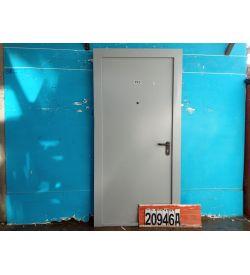 Двери Металлические Б/У 2080(в) х 960(ш) Входные