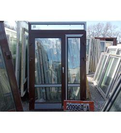 Алюминиевые Двери Б/У 2230(в) х 1460(ш) Штульповые Входные