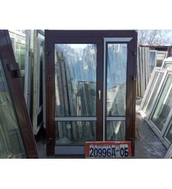 Алюминиевые Двери Б/У 1980(в) х 1460(ш) Штульповые Входные Неликвид