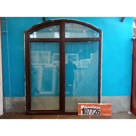 Пластиковые Окна Б/У 2170(в) х 1740(ш) Арочные KBE