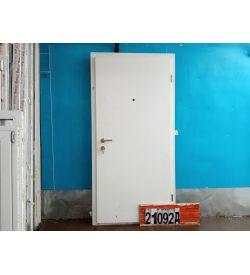 Двери Металлические Б/У 2070(в) х 930(ш) Входные