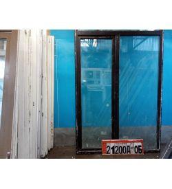 Пластиковые Двери Б/У 2190(в) х 1570(ш) Балконные Неликвид