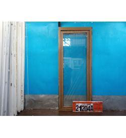 Пластиковые Двери Б/У 2130(в) х 850(ш) Балконные Неликвид
