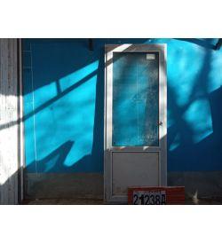 Пластиковые Двери Б/У 2180(в) х 860(ш) Балконные