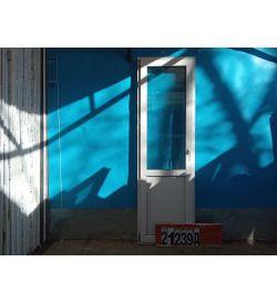 Пластиковые Двери Б/У 2180(в) х 670(ш) Балконные