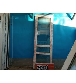 Пластиковые Двери Б/У 2310(в) х 780(ш) Балконные