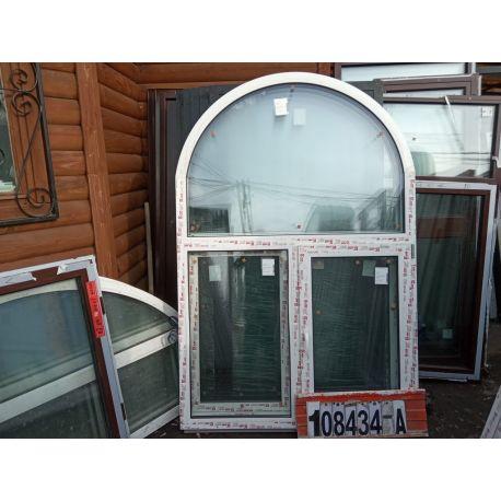 Пластиковые Окна 2100(в) х 1410(ш) Арочные KBE