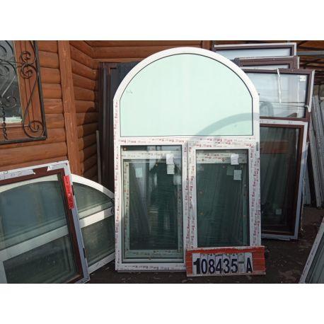 Пластиковые Окна 2150(в) х 1410(ш) Арочные KBE