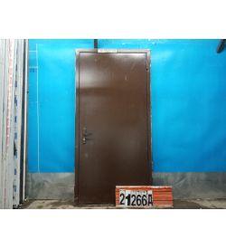Металлические Двери Б/У 2110(в) х 960(ш) Входные