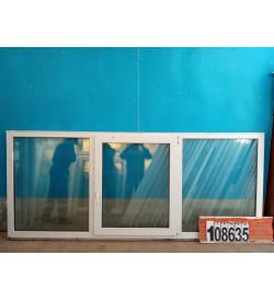 Пластиковые Окна Б/У 1090(в) х 2610(ш)