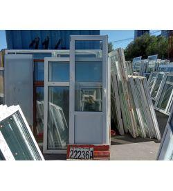 Пластиковые Двери Б/У 2200(в) х 700(ш) Балконные
