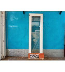 Пластиковые Двери Б/У 2140(в) х 680(ш) Балконные