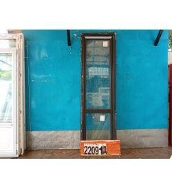 Пластиковые Двери Б/У 2310(в) х 710(ш) Балконные КВЕ