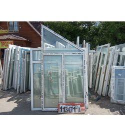 Пластиковые Окна 2500(в) х 1700(ш) Трапецевидные REHAU