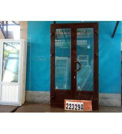 Алюминиевые Двери Б/У 2450(в) х 1370(ш) Входные Штульповые