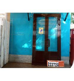Алюминиевые Двери Б/У 2490(в) х 1330(ш) Входные Штульповые