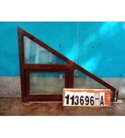 Пластиковые Окна Б/У 1130(в) х 1540(ш) Трапециевидные VEKA