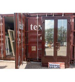 Алюминиевые Двери Б/У 2400(в) х 1300(ш) Входные Штульповые
