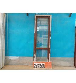 Пластиковые Двери Б/У 2180(в) х 700(ш) Балконные