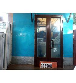 Алюминиевые Двери Б/У 2400(в) х 1300(ш) Штульповые Входные