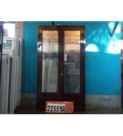 Алюминиевые Двери Б/У 2380(в) х 1390(ш) Штульповые Входные