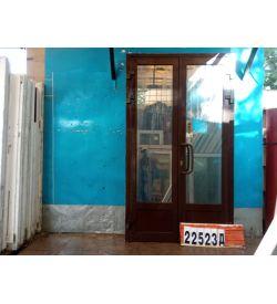 Алюминиевые Двери Б/У 2380(в) х 1360(ш) Штульповые Входные