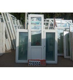 Пластиковые Двери Б/У 2170(в) х 690(ш) Балконные