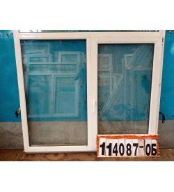 Пластиковые Окна БУ 1410(в) х 1660(ш) Неликвид