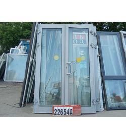 Алюминиевые Двери Б/У 2560(в) х 1700(ш) Штульповые Входные