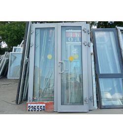 Алюминиевые Двери Б/У 2590(в) х 1700(ш) Штульповые Входные