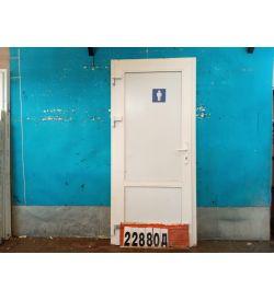 Пластиковые Двери Б У 2100(в) х 1100(ш) Входные
