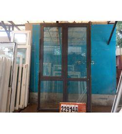 Алюминиевые Двери Б/У 2620(в) х 1550(ш) Балконные