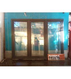 Пластиковые Окна БУ 1800(в) х 2190(ш) КБЕ