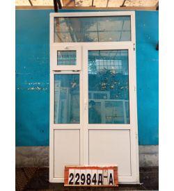 Двери Пластиковые Б/У 2530(в) х 1290(ш) Балконные