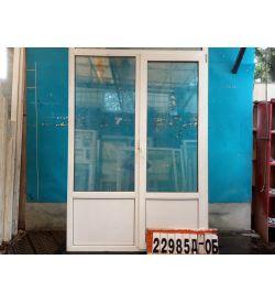 Двери Пластиковые Б/У 2190(в) х 1530(ш) Балконные Неликвид