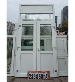 Двери Входные Пластиковые штульповые 2940 (в) х 1500 (ш)