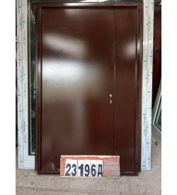 Двери Металлические 2120(в) х 1240(ш) Входные Штульповые