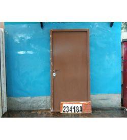 Металлические Двери Б/У 2050(в) х 990(ш) Входные