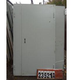Двери БУ Металлические 2100(в) х 1180(ш) Входные Штульповые