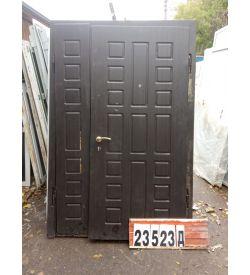 Двери БУ Металлические 2080(в) х 1310(ш) Входные Штульповые