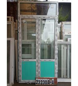 Двери Пластиковые 2800(в) х 1360(ш) Балконные REHAU