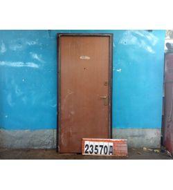 Металлические Двери Б/У 2070(в) х 970(ш) Входные