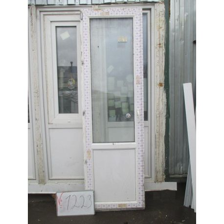 Дверь пластиковая 2320х700