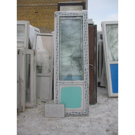 Дверь пластиковая 2360х770
