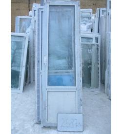 Дверь пластиковая 2370х730