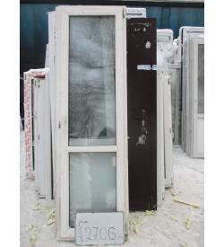 Дверь пластиковая 2200х660