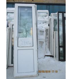 Дверь пластиковая 2350х710