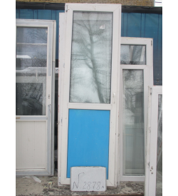Дверь пластиковая 2350х740